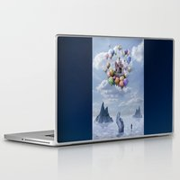 Laptop & iPad Skin featuring Sweet Castle by teddynash