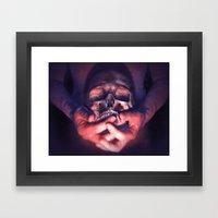 We Are Mortal Framed Art Print