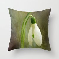 The Productions Of The E… Throw Pillow