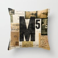 M5 Collection Throw Pillow