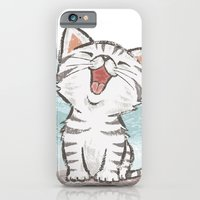 iPhone Cases featuring Cat by Toru Sanogawa