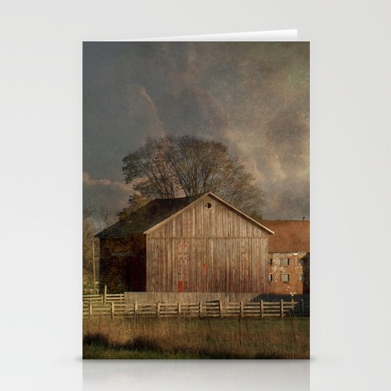 Passing Storm Stationery Card