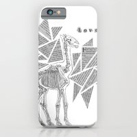 Skeletal Giraffe iPhone 6 Slim Case