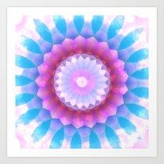 Flower Hearts In A Dream Art Print