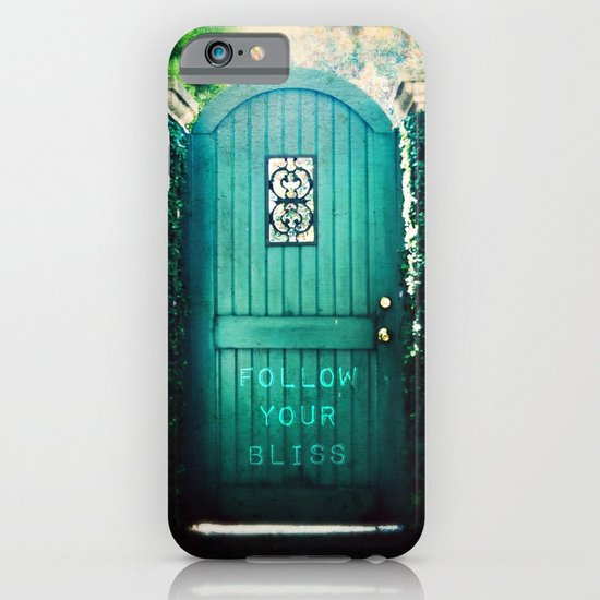 follow your bliss iPhone & iPod Case