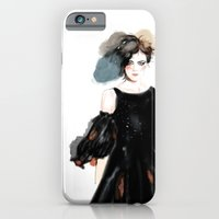 iPhone & iPod Case featuring chanel 2 by Joe Tin Illustration