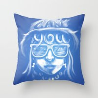 Can You Sea It? Throw Pillow