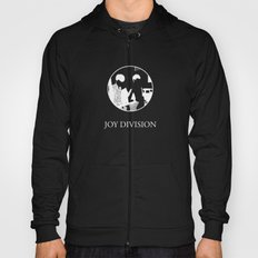 JOY DIVISION - Music | Goth | Indie | Wave | Retro | Vintage | Vector | Black and White | Vinyl  Hoody