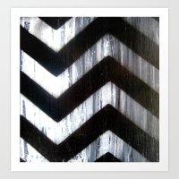 Chevron Art Print