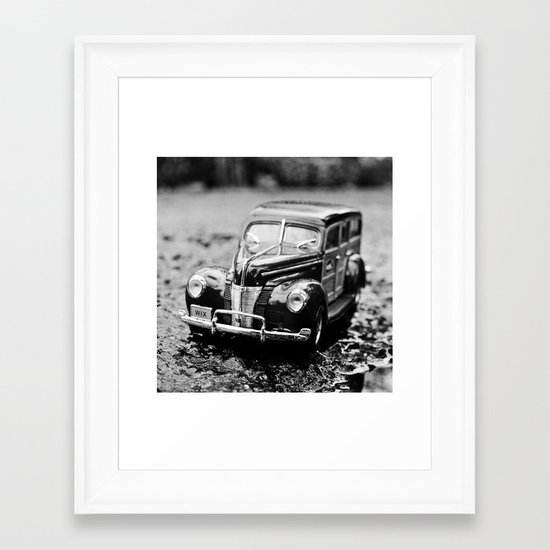 Ford closeup Framed Art Print