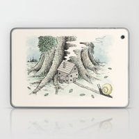 'A Visitor' (Colour) Laptop & iPad Skin