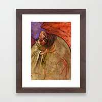 Grandmother Death Framed Art Print