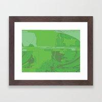Green Armstrong Framed Art Print