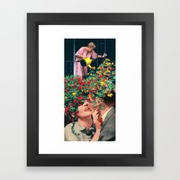 Growing Love Framed Art Print