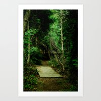 Entrance - color Art Print