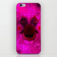 Cotton Candy Clown iPhone & iPod Skin