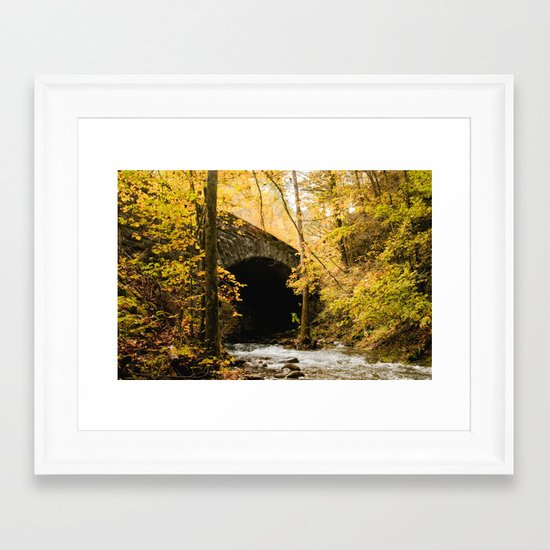Stone Bridge Framed Art Print