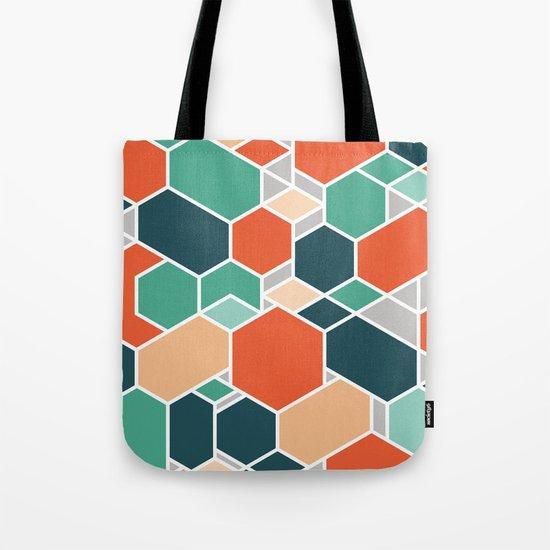 Hex P Tote Bag