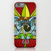 iPhone & iPod Case featuring Ever seen an elephant (so) fly? by Freehand profit