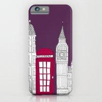 Night Sky // London Red … iPhone 6 Slim Case