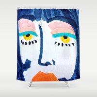 Mod Girl Shower Curtain