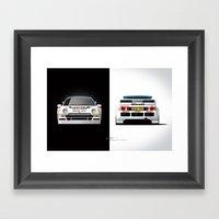 Group B Edition, N.º4, Ford RS200 Framed Art Print