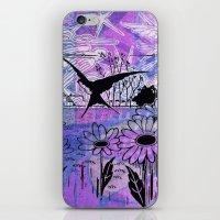 sky birds iPhone & iPod Skin