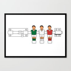 Italian Football - Catenaccio Canvas Print