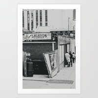 The Legends Corner Art Print