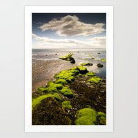 Away to the Sea Art Print