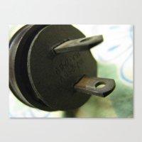 plug 1 Canvas Print