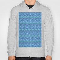 Aztec Duo Color Blue Pat… Hoody