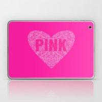 I Love Pink Laptop & iPad Skin