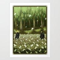 Pixel Art Series 11 : TH… Art Print