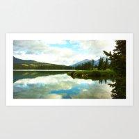 Lac Beauvert Art Print