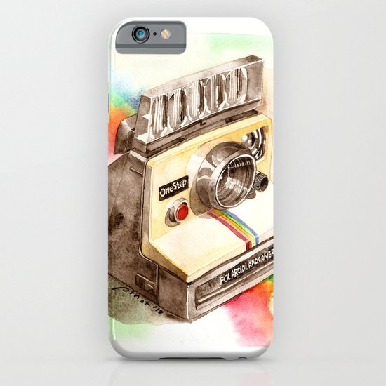 Vintage gadget series: Polaroid SX-70 OneStep camera iPhone & iPod Case