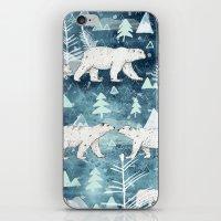 Ice Bears iPhone & iPod Skin