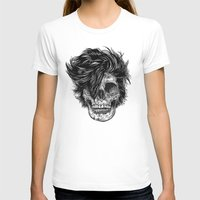 Dead Duran Womens Fitted Tee White SMALL