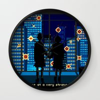 Fight Club Wall Clock
