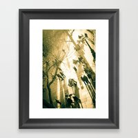 South Bank With A View Framed Art Print