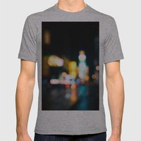 Times Square Empty Mens Fitted Tee Athletic Grey SMALL
