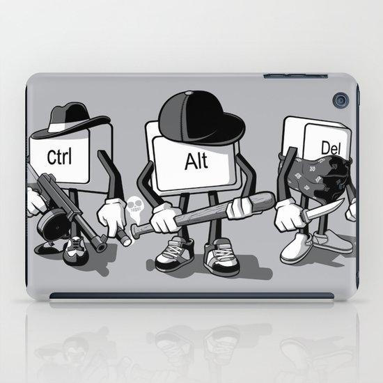 Computer Mafia iPad Case