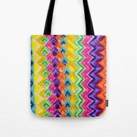 CRAYON LOVE: Cray Tribal Tote Bag
