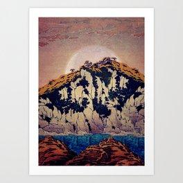 Art Print - Guiding me across Nobe - Kijiermono