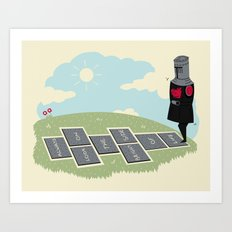 The Optimist Art Print