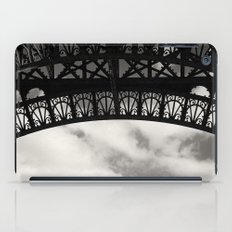 Black Lace of Eiffel Tower iPad Case