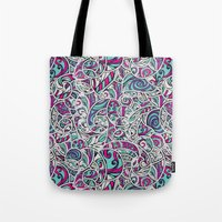 Tangle Pattern #001 Tote Bag