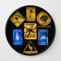 USEFUL SIGNS Wall Clock