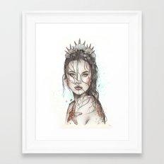 Lost Mermaid Framed Art Print