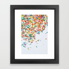 Sprinkles Party II Framed Art Print